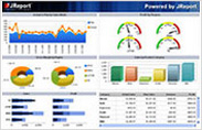 Monitor KPIs with Advanced Dashboards in JReport V10