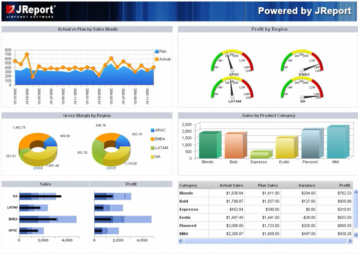 Dashboards by Developers: Interactive Reports for Users