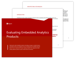 Evaluating Embedded Analytics