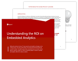 Understanding the ROI on Embedded Analytics